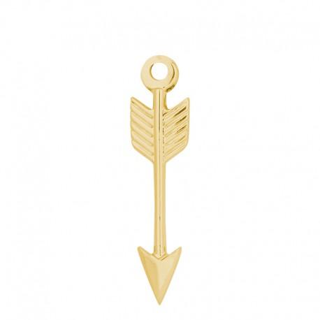 Zawieszka mała strzała złota