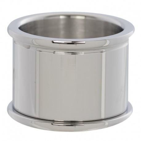 Pierścionek baza 14 mm srebrny
