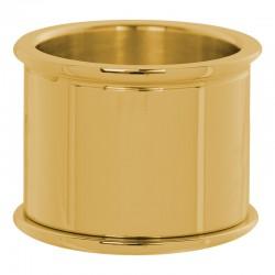 Pierścionek baza 14 mm złoty