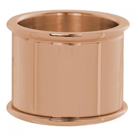 Pierścionek baza 14 mm różowe złoto