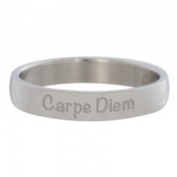 Ring Carpe Diem srebrny