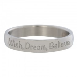 Ring Wish, Dream, Believe srebrny