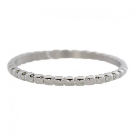 Ring kulki 2 mm srebrny
