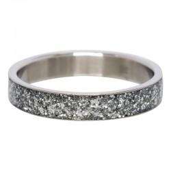 Ring iskra 4 mm srebrny