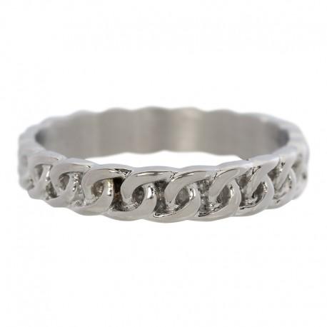Ring łańcuch 4 mm srebrny