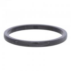 Ring ceramiczny 2 mm czarny