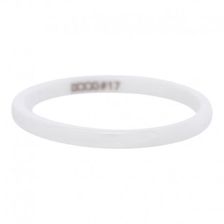 Ring ceramiczny 2 mm biały