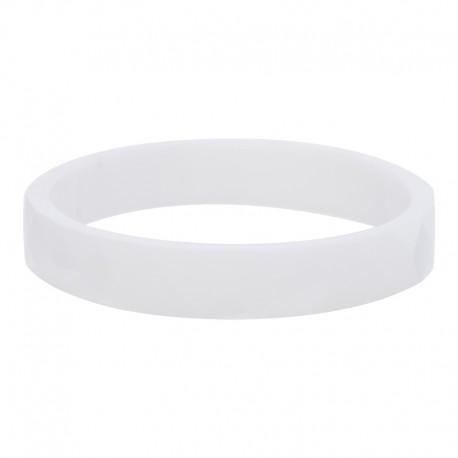 Ring ceramiczny cięty 4 mm biały
