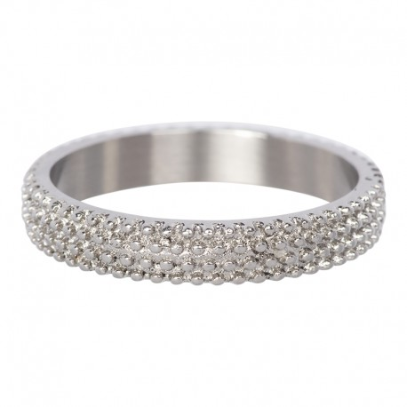 Ring kawior 4 mm srebrny