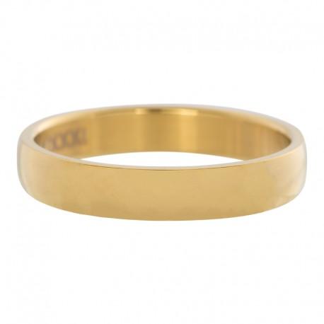 Ring gładki złoty