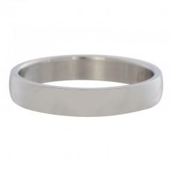 Ring gładki srebrny